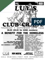 KC Blues Society - Event Flyers