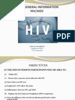 BASIC GENERAL INFORMATION HIV