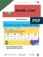 Actividades de 7 Grado - Variedades Linguisticas(0)
