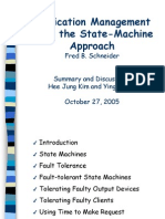 Replication Management using the State-Machine Approach