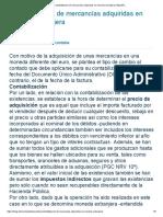 Contabilizacion de mercancías adquiridas en moneda extranjera _ Blog EFL