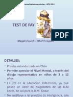 TEST DE FAY con modelo