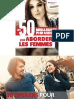 50 Meilleures Phrases Pour Aborder Les Femmes