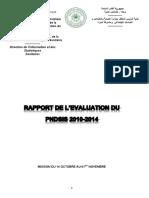 17-04-2014 Rapport de l'évaluation du PNDSIS  2010-2014