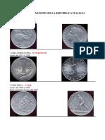 Numismatica Catalogo Monete Della Repubblica Italiana