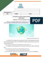 ATIVIDADE DE QUARTA-FEIRA 05.05.2021
