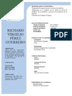 RICHARD VIRGILIO PEREZ GUERRERO