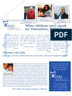 CASA Volunteer Brochure - 2011