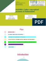 Présentation processus et cadre conceptuel des normes IAS IFRS