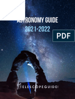 Astronomy Guide 2021-2022 By TelescopeGuide