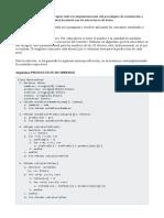 [APEB2-10%] Actividad Experimental 1 Analiza y Aplica Los Conceptos Sobre La Implementación Del Paradigma de Orientación a Objetos Haciendo Uso de Estructuras de Datos
