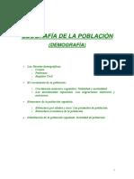 GEOGRAFÍA DE LA POBLACIÓN enero2009-10