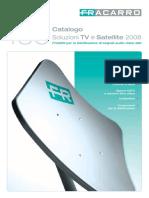 Fracarro - Catalogo Tv Satellite 2008 Completo