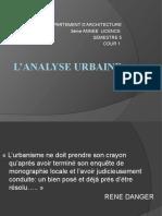 Cour Analyse Urbaine