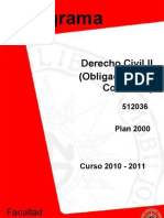 programa Civil II 2000 10-11