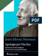 NEWMAN, J. H., Apología pro Vita Sua. Historia de mis ideas religiosas, 2009