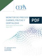 Monitor de Precios de Carne, Frutas y Hortalizas - Mayo 2021 - CEPA