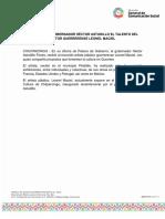 23-09-2019 RECONOCE EL GOBERNADOR HÉCTOR ASTUDILLO EL TALENTO DEL PINTOR GUERRERENSE