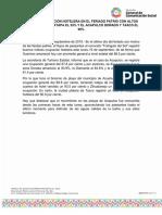 16-09-2019 CIERRA LA OCUPACIÓN HOTELERA EN EL FERIADO PATRIO CON ALTOS ÍNDICES; REBASA IXTAPA EL 93% Y EL ACAPULCO DORADO Y TAXCO EL 90%