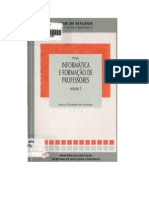 Informática e formação de prof - vol 1