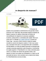 Futebol_ um desporto de massas_