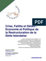 Note atterrés sur la crise islandaise
