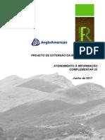 Anglo American - Relatório de informação complementar nº 25