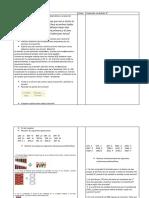 Planificación la  División 3 y 4