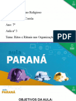 AULA PARANÁ - ER - EF - 7 Ano - Ritos e Rituais - Aula 03