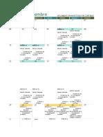calendario academico Investigacion contable