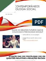 Temas Contemporâneos Em Psicologia Social