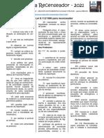 Lei 8.112 para Recenseador
