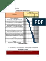 Proyecto. Cronograma, recursos, presupuesto.