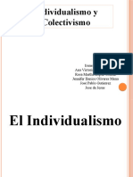 individualismo y colectivismo