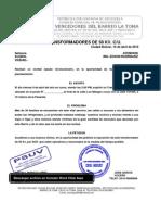 SOLICITUD DE TRANSFORMADOR DE 50KV A ELEBOL