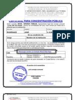 CONSEJO COMUNAL FORMATO DE CARTA DE RESIDENCIA