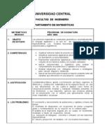 EJEMPLO CALCULO DE CREDITOS MATEMATICAS BASICAS