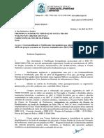 OFÍCIO Nº 1311 2019 GABSEC