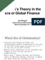 Keynes's Theory in the Era of Global Finance