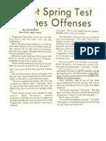 1974 BVHS Spring Game