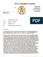 Butts County Sheriff Gary Long letter to governor