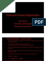 U of MD Defensive Practice Org.