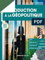 eBook Amael Cattaruzza - Introduction a La Geopolitique