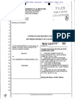 Grabowski v. CH Robinson - Complaint