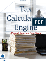 Tax Calculation Engine - Payroll Solution Case Study