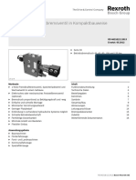 Single-circuit power brake valve of compact design LT 12