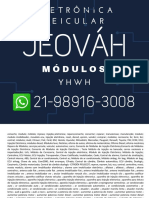 Whatsapp (21) 98916-3008 Reparo Módulo Injeção Eletrônica