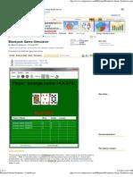 Blackjack Game Simulator - CodeProject