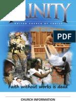 Trinity United Church of Christ Bulletin 032111