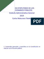 1. Regimen Estatutario 2021